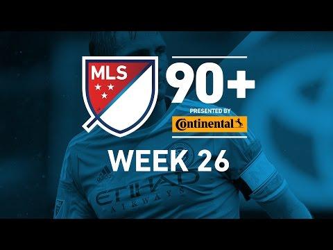 MLS Highlights:  Week 26