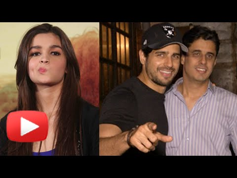 Caught! Sidharth Malhotra On A Dinner Date Not Wit