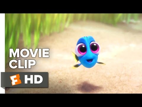 Finding Dory Movie CLIP - Baby Dory (2016) - Ellen DeGeneres, Ed O'Neill Movie HD