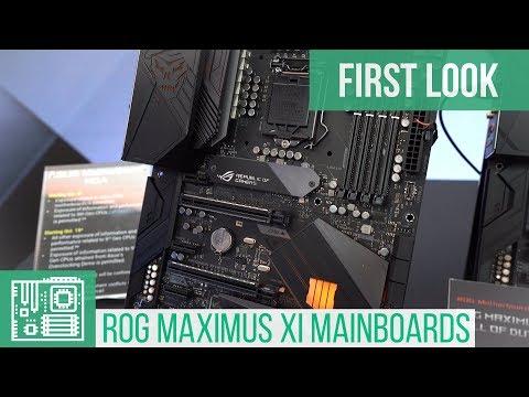 Asus ROG Maximus XI Z390 Motherboards (Gene, Hero, Formula & Extreme)