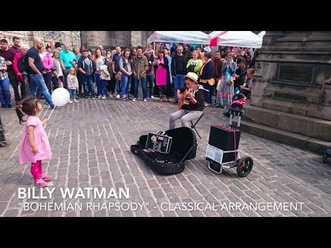 14 Year Old Busker CRUSHES Bohemian Rhapsody