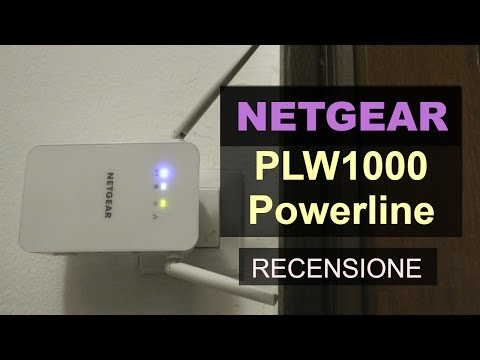Come estendere la rete Wireless: Recensione Netgear PLW1000 Powerline