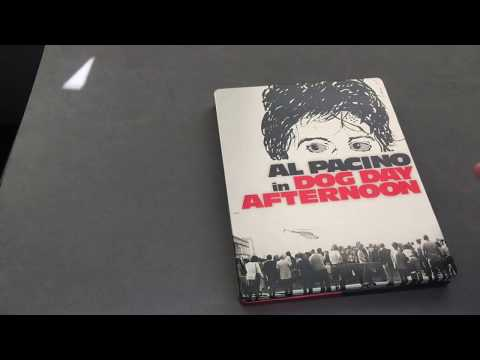 DOG DAY AFTERNOON [FRANCE] EXCLUSIVE STEELBOOK BLU RAY REVIEW