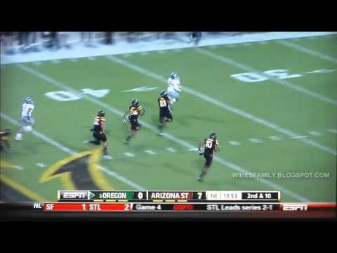 oregon duck - All 89 Oregon touchdowns from the 2012 season including the 2013 Fiesta Bowl. Brought to you by: http://winesfamily.blogspot.com/