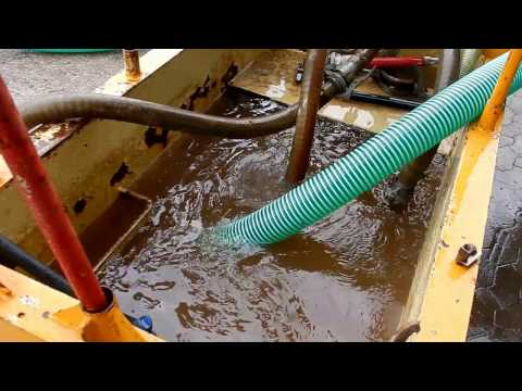 Grundwasserpumpe Vakuumpumpe Pumpex EVAC 2001 Probelauf