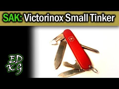 SAK: Victorinox Small Tinker (84mm Swiss Army Knife)