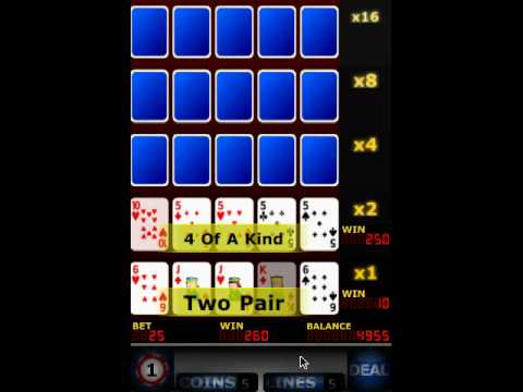 Video of Upgrade Video Poker