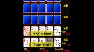 Upgrade Video Poker FREE YouTube video