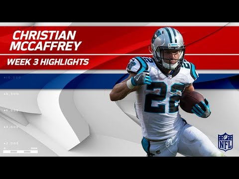 Video: Christian McCaffrey's 9 Catches & 101 Yards! | Saints vs. Panthers | Wk 3 Player Highlights