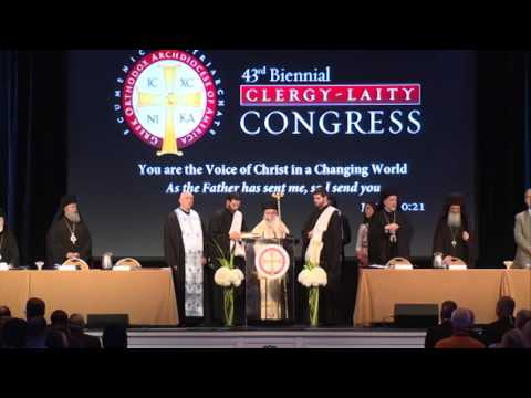 Clergy-Laity 2016: Congress Opening