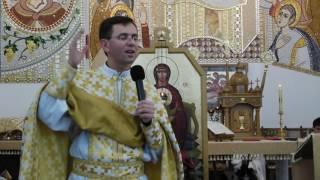 Проповідь на завершення 2016 року ПКМ о Йосафат Бойко, ВС