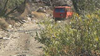 More at BajaBus.org. This is the dirt road from the Bahia de Los Angeles highway to Mission San Francisco de Borja Adac. In the video is our Ford E350 4x4 Van ...