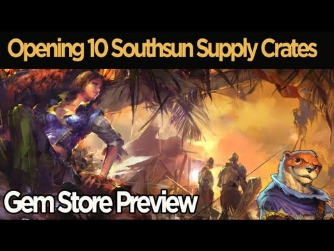 Guild Wars - In this video, I open 10 Southsun Supply Crates for science! These random loot chests can be purchased from the gem store in Guild Wars 2 or obtained off of ...
