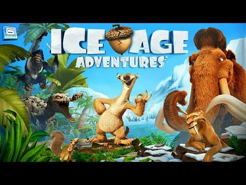 Ice Age Full Movie Cartoon  - Manny, Sid, Diego, Scrat and Ellie