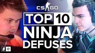 Video The Top 10 Ninja Defuses in CS:GO MP3, 3GP, MP4, WEBM, AVI, FLV Juni 2019