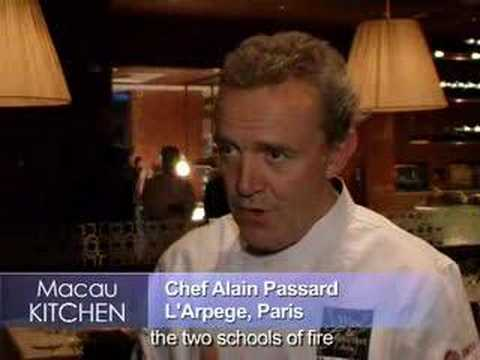 Chef Alain Passard at Aurora