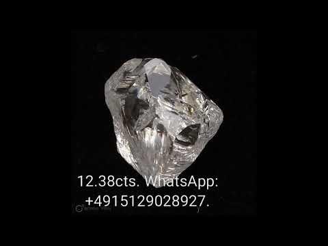 12.38 carats rough diamond for sale