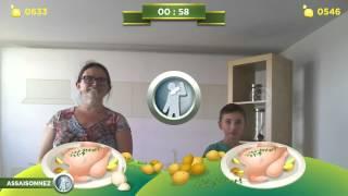 Vidéo Nadine D vs A N