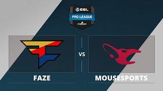 FaZe vs mouz, game 1