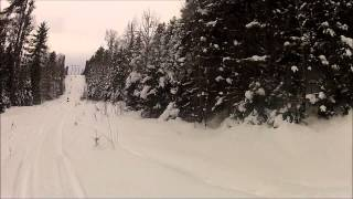 6. IQr Pole Line riding in the U.P. 1/2/15 pt2