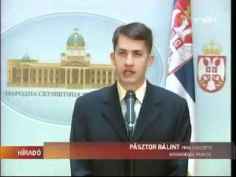 Híradó - Megkezdte őszi ülésszakát a Szerbiai Képviselőház-cover