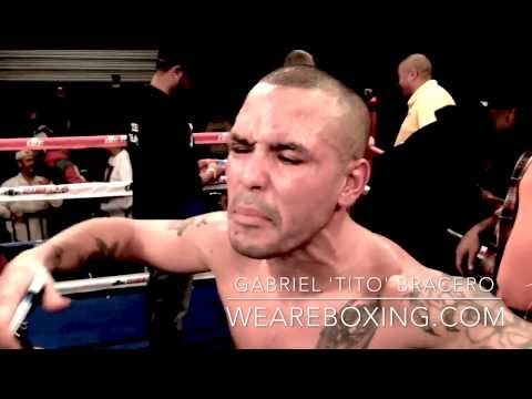 dmitriy - http://WeAreBOXING.com Gabriel Bracero VS. Dmitriy Salita (Bracero Post Fight Interview) (http://DBE1.com - DiBella Entertainment) - On November 9, 2013, bef...