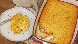 Sweet Corn Pudding by Laura in the Kitchen