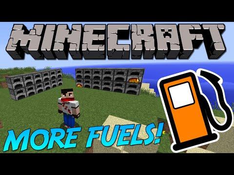 MORE FUELS [1.9] 70+ More Fuels!   Minecraft Mod Showcase!
