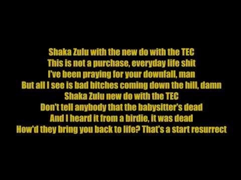 Tyga - Shaka Zulu (Lyrics)