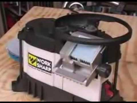 Work Sharp WS3000 Tool Sharpener Review: NewWoodworker