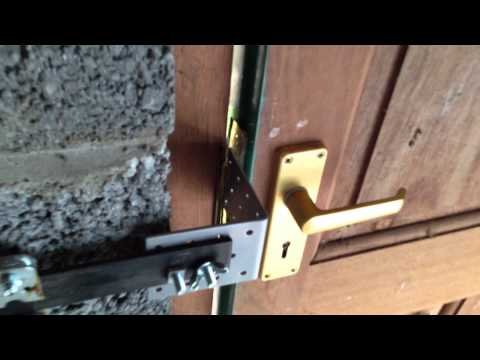 Dog Owner Rigs Door So That It Unlocks With A Bark