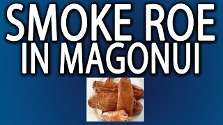 Mangonui New Zealand  City new picture : Smoked Roe in Mangonui, New Zealand