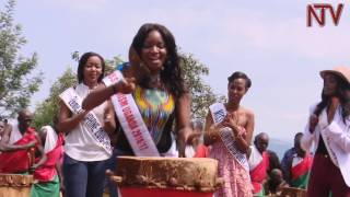 Beauty queens from the East African region who were on a recent tour of Burundi experienced culture shock after they joined a group of entertainers in beating ...