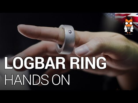 Logbar Ring – A Gesture Control Wearable Hands On