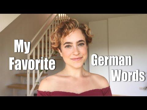 My Favorite German Words (American in Germany)