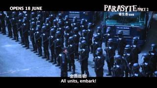 Parasyte Part 2 - Official Trailer (In selected GSC Cinemas 18 June 2015)