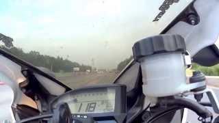 9. CBR1000RR 2012 top speed - 299 Km/H - 2014-07