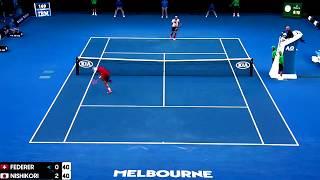 Roger Federer Australian Open 2017 best points