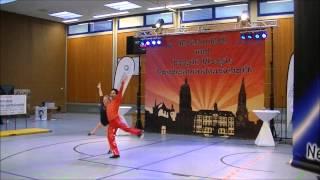 Michelle Uhl & Tobias Bludau - Landesmeisterschaft Rheinland-Pfalz und Saarland 2015