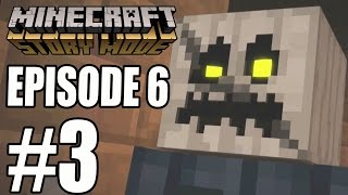 """Minecraft Story Mode - EPISODE 6 GAMEPLAY """"White Pumpkin REVEAL""""   """"A Portal To Mystery"""" (PART 3)"""