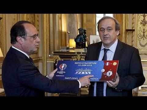 Γαλλία: Άρχισαν οι πωλήσεις των εισιτηρίων του EURO 2016
