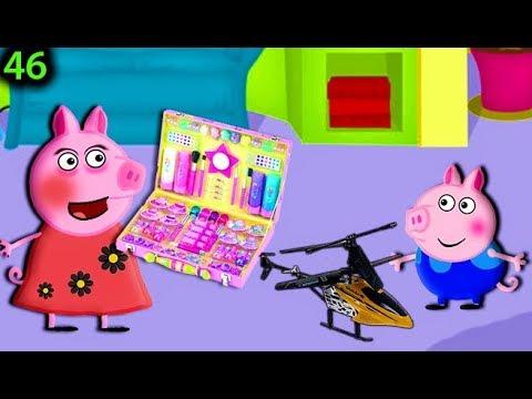 Мультики Свинка смотреть на русском 46 ПОДАРКИ ВСЕ ДЕТЯМ Мультфильмы свинка для детей