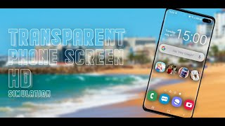 Transparent Phone Screen Joke YouTube video