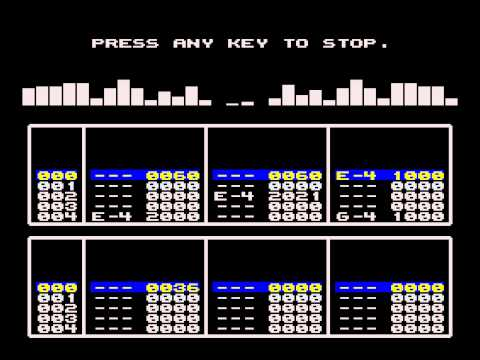 SAM Coupe - E-Tracker Axel F Music Demo (ESI)