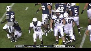 Robert Turbin vs BYU 2011