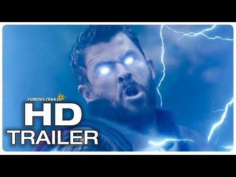 AVENGERS INFINITY WAR Thor Stormbreaker vs Black Order Trailer (2018) Superhero Movie Trailer HD