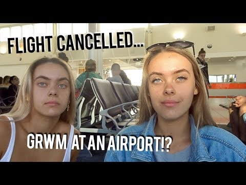 GRWM AT THE AIRPORT... | Brisbane Vlog, Events