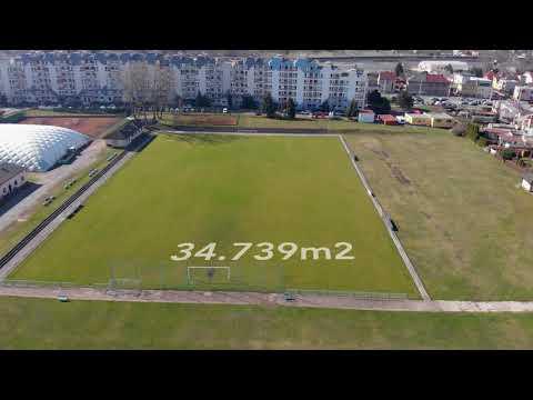 Video Sportovní areál na ul. Luční, Slovany, Pardubice  34739m2 - Pardubice