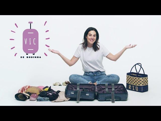 Vic de rodinhas: como fazer uma mala de verão - TV Beauté | Vic Ceridono - Victoria Ceridono