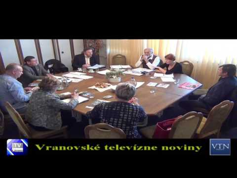 Vranov: na pôde Okresného úradu sa rokovalo o stratégii rozvoja cestovného ruchu na Domaši